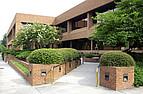 Seminargebäude auf dem Campus der Mercer University