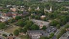 Blick auf den historischen Campus der Mercer University