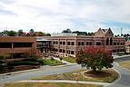 Typische Szenerie auf dem Campus der Mercer University