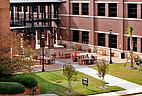 Fläche vor Seminargebäude der Mercer University