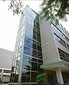 Ein Seminargebäude an der University of Wisconsin Stevens Point