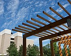 Blick auf ein Seminargebäude der UWSP