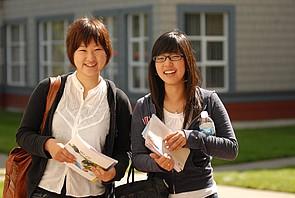 Studenten des North Island College