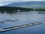 Landesplatz für Wasserflugzeuge Downtown Vancouver