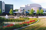 Der Campus der Kwantlen Polytechnic University in Surrey