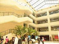 Der Campus der Dingbei University of Finance and Economics