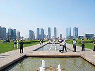 Platz in Dalian