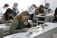 Studenten im Seminar