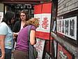 Internationale Studenten bei einem Ausflug zur Kulturstraße