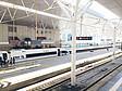 Bahnhof Tianjin mit Hochgeschwindigkeitszug nach Peking/Beijing