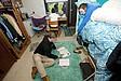 Thomas College Studenten in ihrem Wohnheimzimmer
