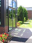 Eingangsbereich eines Seminargebäudes