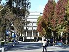 Blick auf die Geisel Bibliothek der California, San Diego