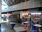 Einer der Food Courts auf dem Campus