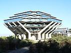 Die Geisel Bibliothek auf dem UC San Diego Campus