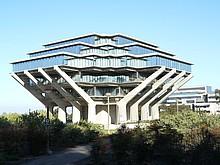 Bibliothek auf dem Campus der UCSD