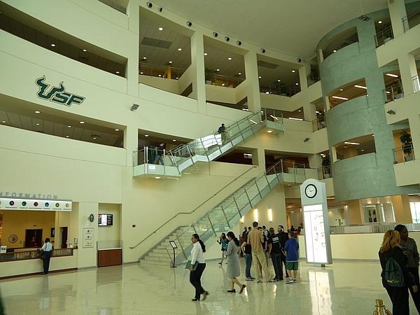 Das Marshall Student Center der University of South Florida