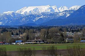 Landschaft im Comox Valler auf Vancouver Island
