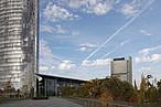 Der Post Tower und der UN-Campus in Bonn