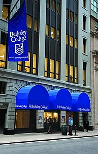 Hauptgebäude des Berkeley College in Manhattan